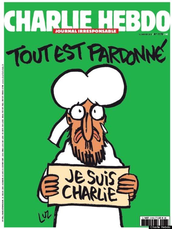 Charlie Hebdo 14 jan 2015 シャルリー・エブド 2015年1月14日号