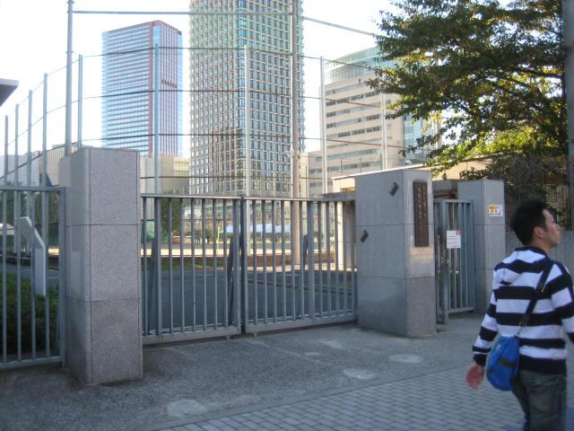 放送記念碑(東京都港区芝浦3-3-...